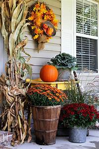 Outdoor, Fall, Decorations, With, Farmhouse, Style