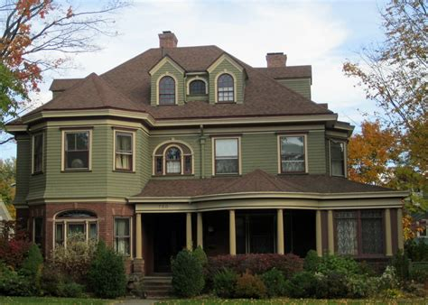 Cool Paint Colors For Victorian Houses House Style Design