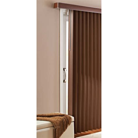 Better Homes And Gardens Vertical Blinds better homes and gardens vertical blinds printed chestnut