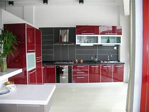 luxury red white and black kitchen tiles 9 on kitchen With red white and black kitchen designs
