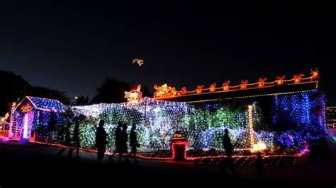 where to see canberra christmas lights in 2014