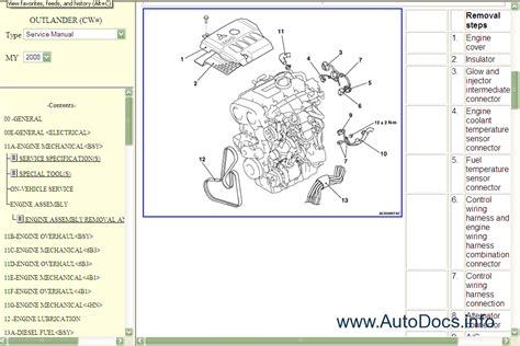 Mitsubishi Outlander Service Manual Repair