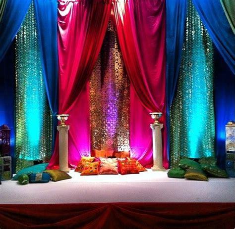 easy diy mehndi stage decoration ideas inspiration