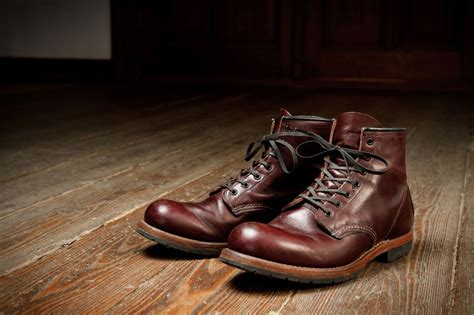 red wing beckman black cherry red wing shoe