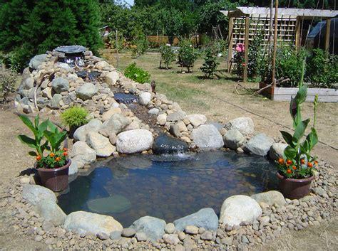 backyard pond ideas  waterfall pool design ideas