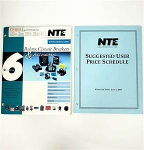 Nte Relays Circuit Breakers Accessories Edition 6