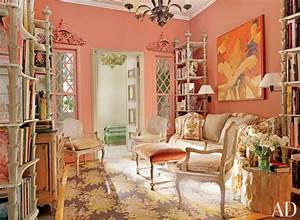 Peach Color Paint Living Room