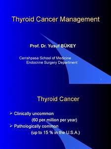 Thyroid Cancer Management