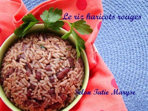 cuisine tv recettes vues à la tv le riz haricots rouges la spécialité guadeloupéenne