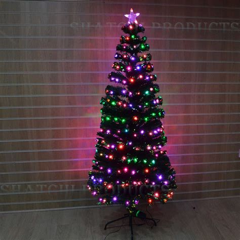 led christmas tree decorations led fibre optic tree various design lightings pre lit home decorations ebay