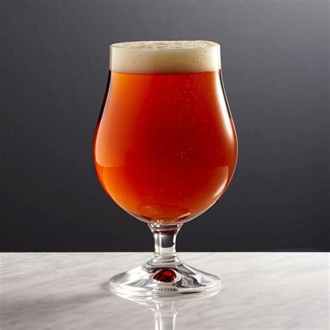 Bruges Beer Glass + Reviews | Crate and Barrel