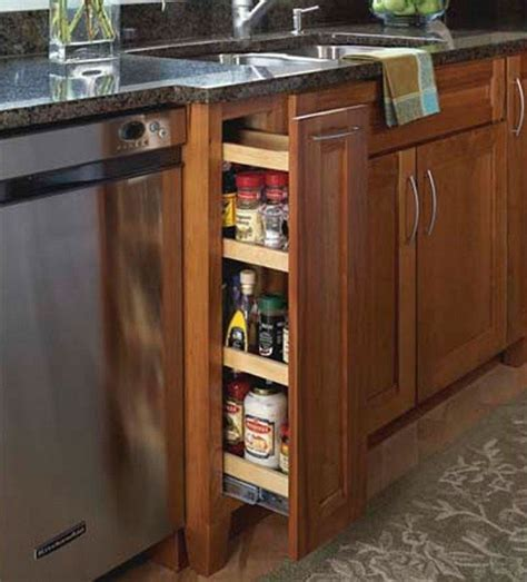 kitchen base cabinet pull outs base pantry pull out kraftmaid 7723