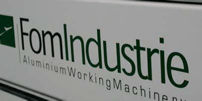 fom aluminium pvc machines geerlings machinery