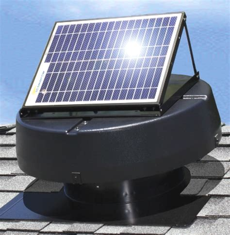 solar powered box fan new solar powered attic fan ventilator roof air vent roof