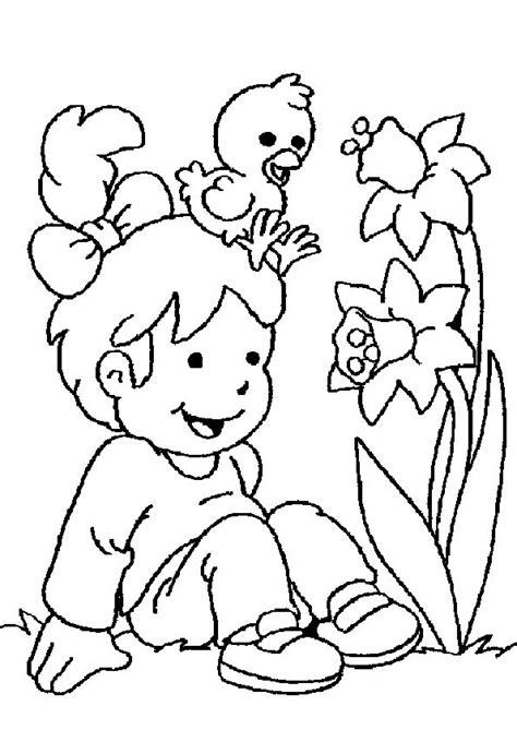 Dikie Dik Lente Kleurplaat by Lente Lente Kleurplaten Coloring Pages For