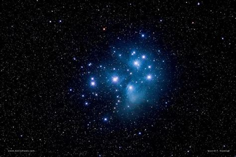 Pleiades Star Cluster, Aka Seven Sisters