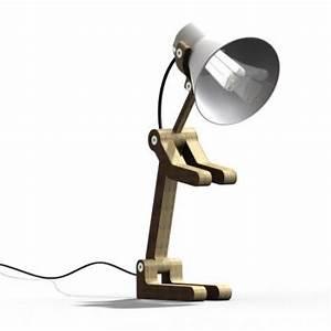 Lampe De Bureau Enfant : lampe waaf par pierre stadelmann ~ Nature-et-papiers.com Idées de Décoration