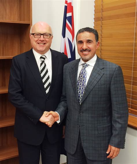 australian attorney general receives saudi ambassador