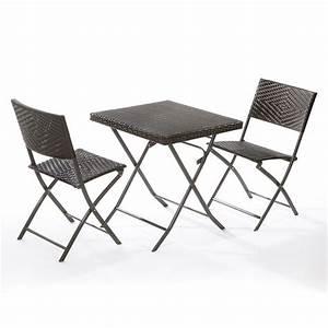Chaise En Résine Tressée : chaise pliante resine tressee fauteuil pliant exterieur djunails ~ Dallasstarsshop.com Idées de Décoration