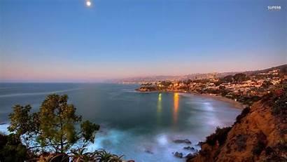 Beach Laguna California Wallpapers Desktop Wallpapertag Popular