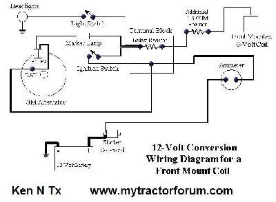 Wiring Diagram For Ford 8n 12 Volt by 49 8n Wiring