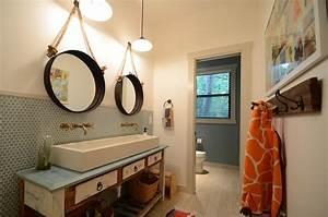 bathroom sinks powder room modern with bowl sink beige With miroir salle de bain original