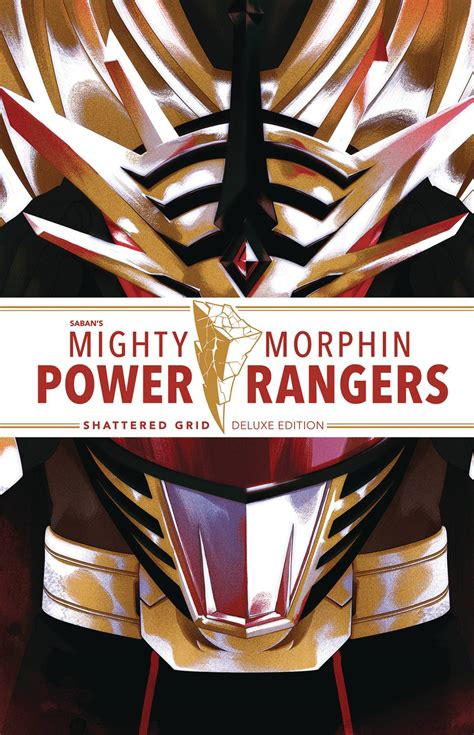 MIGHTY MORPHIN POWER RANGERS DLX HC SHATTERED GRID (C: 1-1 ...
