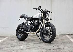 Racing Caf U00e8  Yamaha Scorpio  U0026quot The Bubble Terror U0026quot  By Studio