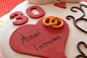 Torta 30 Anniversario Di Matrimonio Dolce Come Una