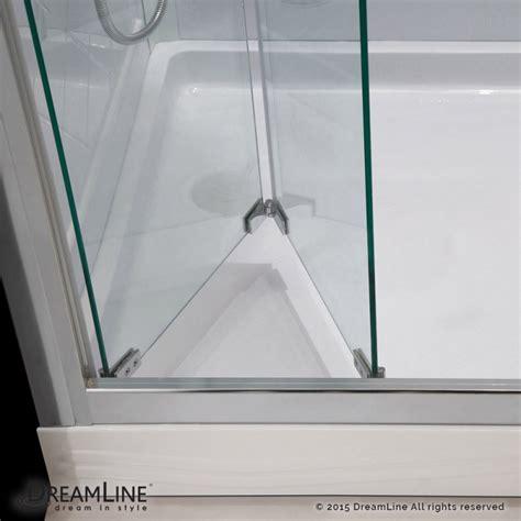 butterfly bi fold shower door dreamline