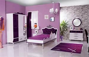 Wandgestaltung Schlafzimmer Lila : kinderzimmer anastasia lila im m bel spot kids shop ~ Markanthonyermac.com Haus und Dekorationen