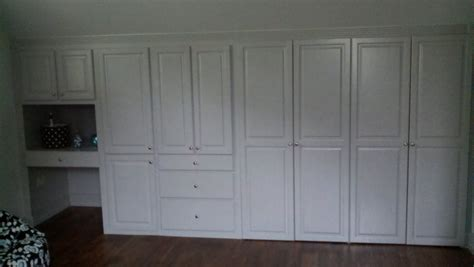 custom built closets bedroom built in cabinets