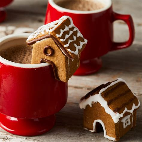mini gingerbread house cookies recipe eatingwell