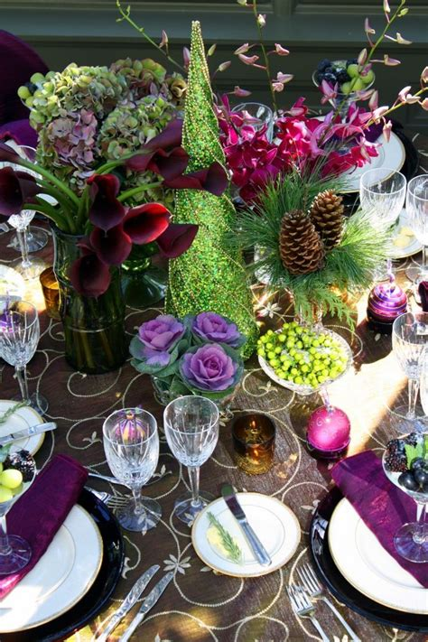 and green christmas table decorations 34 gorgeous christmas tablescapes and centerpiece ideas style estate
