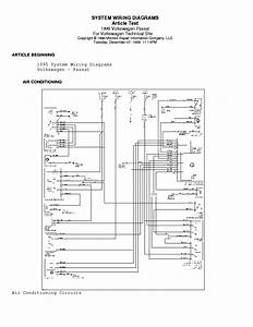 Volkswagen Passat Free Wiring Diagram Manual