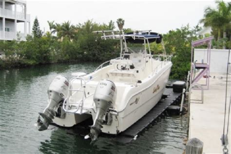 Drive On Floating Boat Lift by Drive On Floating Pontoon Boat Lifts
