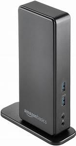 Amazonbasics Usb 3 0 Universal Laptop Docking Station