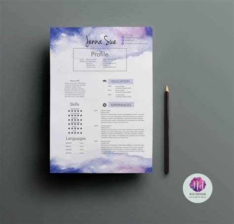 Creative Resume Packages by 17 Best Ideas About Creative Cv Template On