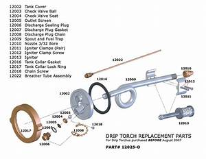 Drip Torch Replacement Parts