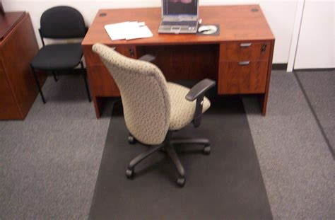 mat for desk chair whitevan