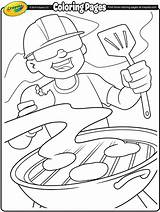Coloring Pages Labor Crayola Bbq Summer Burgers Crafts Grill Printable Grillin Printables Colouring Adult Ready Activities Getcoloringpages American Happy sketch template