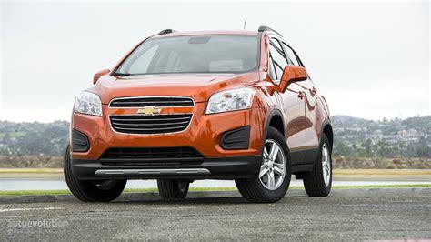 Chevrolet Suv 2015 by Comparison Chevrolet Trax Suv 2015 Vs Chevrolet