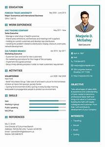professional resume cv templates with examples topcvme With impressive resume templates