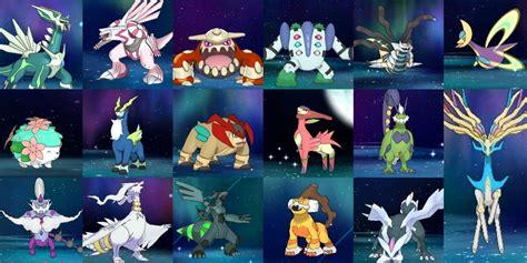Pokémon: Every Shiny Legendary Form Change, Ranked | TheGamer