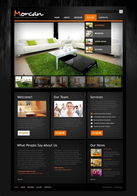 Home Design Websites by Interior Design Website Template 36424