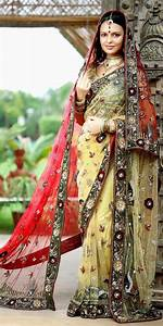 Bridal Sarees Are Made Up Of High Quality Fabric And Have