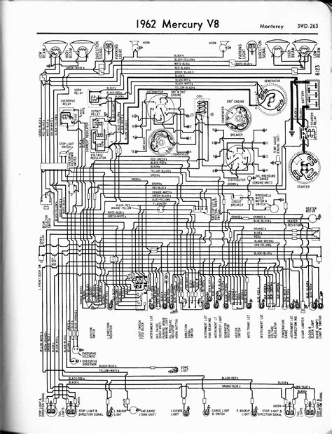 Mercury Wiring Diagrams The Old Car Manual Project