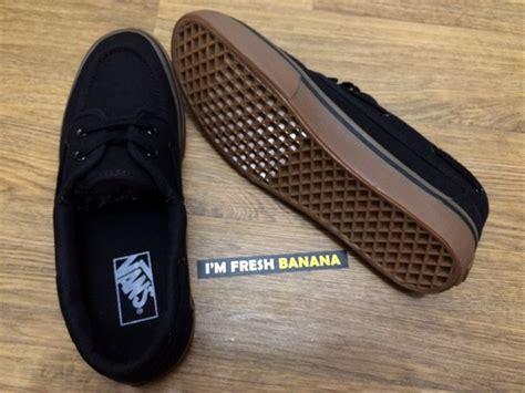 Jual Sepatu Vans Zapato jual terbaru sepatu vans zapato classic barco black