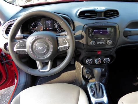 jeep renegade dashboard 2015 jeep renegade test drive our auto expert