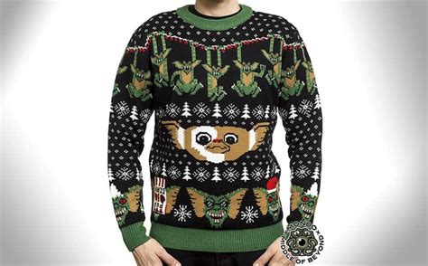 christmas gremlins sweater decorations ugly nerdmuch animated agustus